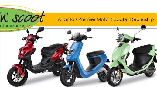 Atlanta Motor Scooters | Scooter Dealers Atlanta GA