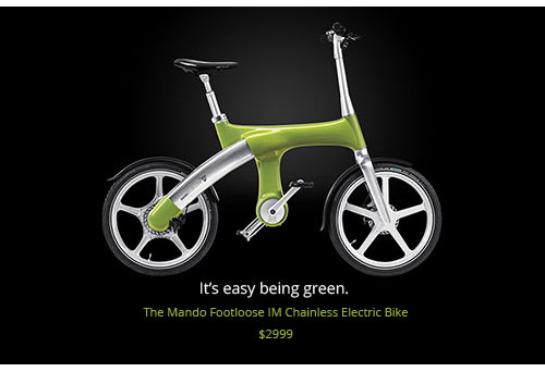 The Mando Footloose E-bike