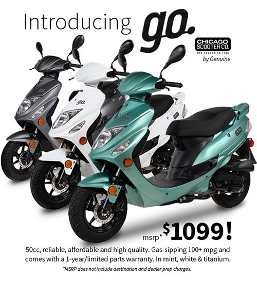 The New Go. $1099 Scooter