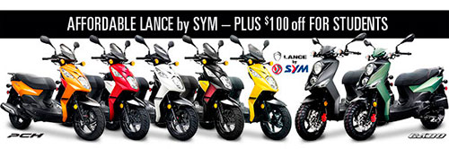 $100 off Lance Scooters for Students