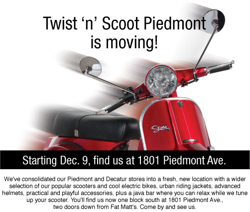 Twist 'n' Scoot is Moving